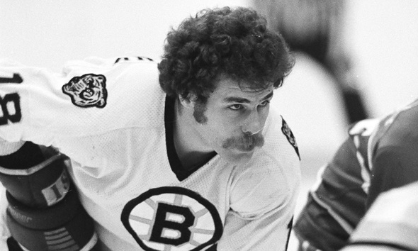 Bruins forward John Wensink was born on this day in 1953 in Pincher Creek, Alberta