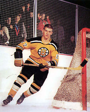 1966- Bobby Orr scores his first NHL goal in a 3-2 loss to the Montreal Canadiens.