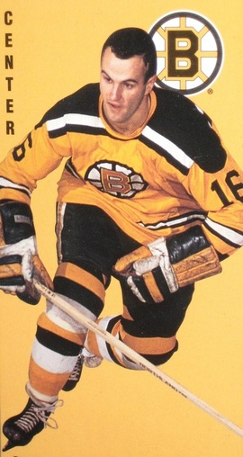 Former Boston Bruins player Murray Oliver died Sunday after a heart attack, he was 77. Oliver played for the Bruins during the 1960/61 to 1966/67 seasons. He played in 426 games, scoring 116 goals with 214 assists for 330 points for the Bruins. He was an All Star during the 1963, 1964, 1965, and 1967 seasons. He broke into the NHL with the Detroit Red Wings and was the runner-up to Bill Hay of the Black Hawks for the the Calder Trophy in 1959/60 after scoring 20 goals for the Red Wings. After the Bruins he played for the Toronto Maple Leafs and Minnesota North Stars.