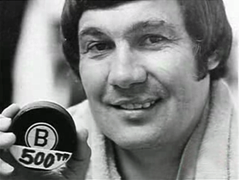 1975 - John Bucyk scores his 500th NHL goal in a 3-2 Bruins win over the St. Louis Blues.