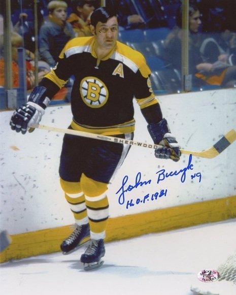 1974 Boston's John Bucyk beame the highest scoring left wing in NHL history, in a 10-1 win over the visiting Minnesota North Stars. Bucyk's two assists in the game moved him ahead of Bobby Hull's 1,153 career points with Chicago.