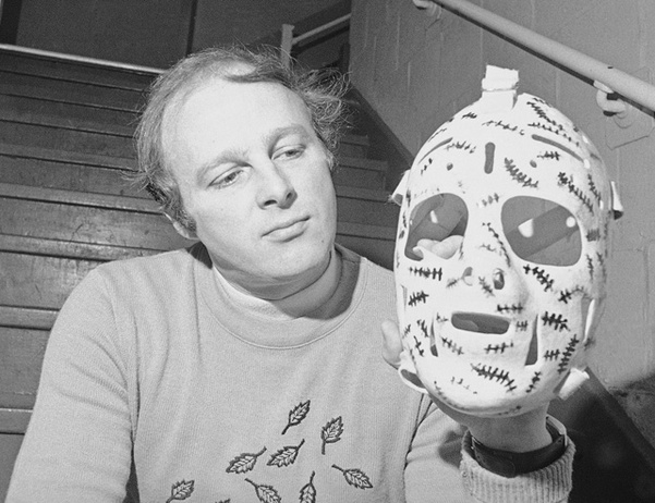 Gerry Cheevers Mask Pre-Stiches
